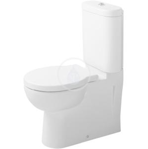 DURAVIT Bathroom_Foster Splachovací nádrž, 375 mm x 175 mm, bílá, Splachovací nádrž, 375 mm x 175 mm, bílá nádrž, připojení dole vlevo, s WonderGliss 09121000051