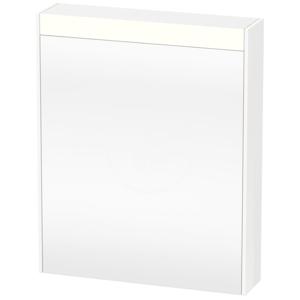 DURAVIT Brioso Zrcadlová skříňka 760x620x148 mm, levá, 1 dvířka, lesklá bílá BR7101L2222