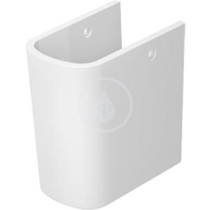 DURAVIT DuraStyle Polosloup, bílý, Polosloup, bílý polosloup, s WonderGliss 08583000001