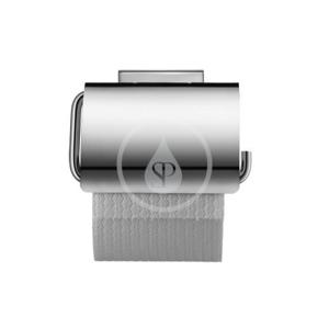 DURAVIT Karree Držák toaletního papíru s krytem, chrom 0099551000
