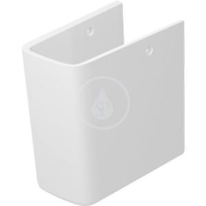 DURAVIT P3 Comforts Polosloup, 165 mm x 230 mm, bílý 0858380000