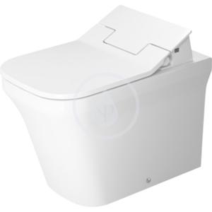 DURAVIT P3 Comforts Stojící klozet Rimless, 380 mm x 600 mm, bílý, Stojící klozet Rimless, 380 mm x 600 mm, bílý s hlubokým splachováním 4,5 l, s HygieneGlaze 2166592000