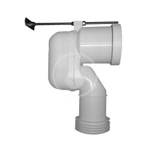 DURAVIT Příslušenství Vario připojovací koleno pro WC, spodní odpad 8990250000