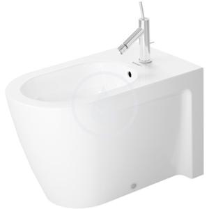 DURAVIT Starck 2 Stojící bidet s přepadem, 370 mm x 630 mm, bílý, Stojící bidet s přepadem, 370 mm x 630 mm, bílý bidet 2272100000