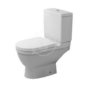 DURAVIT Starck 3 WC kombi mísa, zadní odpad, s HygieneGlaze, alpská bílá 0126092000