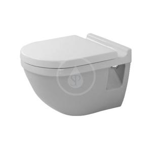 DURAVIT Starck 3 Závěsné WC, s HygieneGlaze, alpská bílá 2200092000