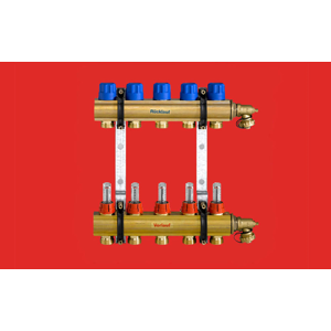 FV Plast FV THERM rozdělovač INOX s průtokoměry 7 okruhů AA906001007 AA906001007