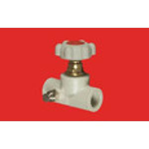 FV Plast PPR ventil přímý 32 s výpustí a MOSAZNÝM vrškem s kolečkem AA275032000 305032