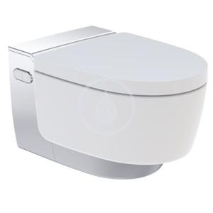 GEBERIT AquaClean Elektronický bidet Mera Comfort s keramikou, bílá/lesklý chrom 146.212.21.1