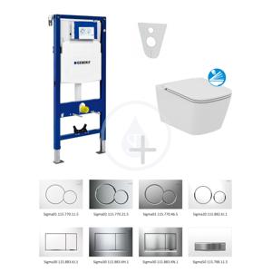 GEBERIT Duofix Sada pro závěsné WC + klozet a sedátko softclose Ideal Standard Mia sada s tlačítkem Sigma30, lesklý/matný/lesklý chrom 111.300.00.5 NG6