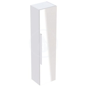 GEBERIT iCon Skříňka vysoká 1500x360 mm se zrcadlem, matná bílá 841150000