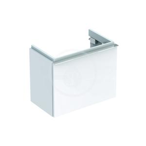 GEBERIT iCon xs Spodní skříňka pod umývátko, 520x420x308 mm, bílá lesklá 840052000