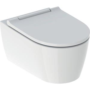 GEBERIT ONE wc mísa závěsná TurboFlush se sedátkem, bílý kryt 500.201.01.1 500.201.01.1