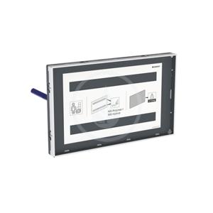 GEBERIT Příslušenství Krycí deska pro splachovací nádržky pod omítku Sigma, zalícovaná s pohledovým rámečkem 115.697.00.1