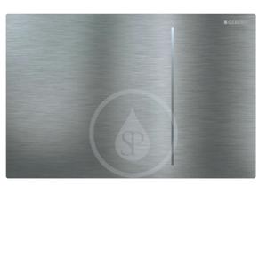 GEBERIT Sigma70 Ovládací tlačítko SIGMA70, kartáčovaná nerez 115.620.FW.1