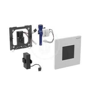 GEBERIT Splachovací systémy Elektronické ovládání splachování pisoárů Typ 30, bateriové napájení, alpská bílá 116.037.KJ.1