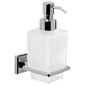 Gedy COLORADO dávkovač mýdla, chrom/sklo satin 6981