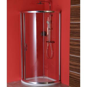 GELCO SIGMA čtvrtkruhová zástěna 800x800 mm, R590, 1 dveře, L/R, čiré sklo SG1160
