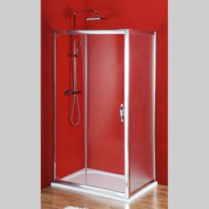 GELCO Sigma obdélníkový sprchový kout 1300x800mm L/P varianta, dveře čiré, bok Brick SG1243SG3678