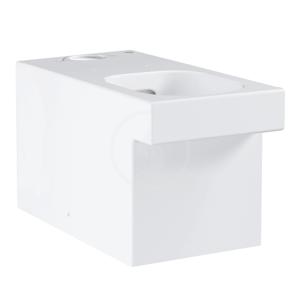 GROHE Cube Ceramic WC mísa kombi, rimless, PureGuard, alpská bílá 3948400H
