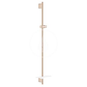GROHE Rainshower SmartActive Sprchová tyč s poličkou, 900 mm, kartáčovaný Warm Sunset 26603DL0