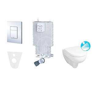 GROHE Uniset Uniset pro závěsné WC, kompletní sada 38643SET-KC