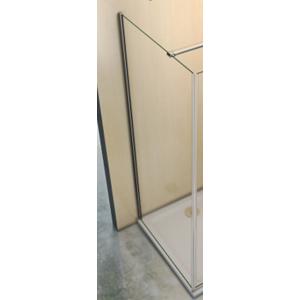 H K Pevná boční stěna MELODY F1 90x195cm, výplň sklo čiré SE- MELODYF190-06