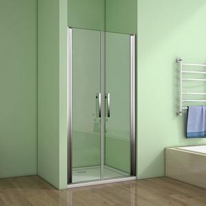 H K Sprchové dveře MELODY D2 100 dvoukřídlé 96-100 x 195 cm výstavní vzorek SE- MELODYD2100VZOREK