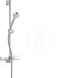 HANSA Basicjet Sprchová souprava s nástěnnou tyčí 650 mm, chrom 44780211