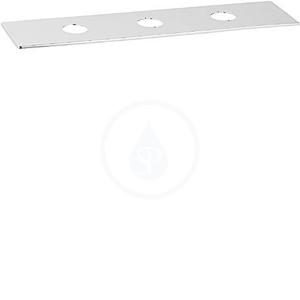 HANSA Loft Dekorační deska, pro vanové baterie se 3-otvorovou instalací, chrom 53220000