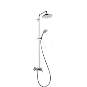 HANSGROHE Croma 220 Sprchový set Showerpipe 220 s baterií, 1 proud, chrom 27222000