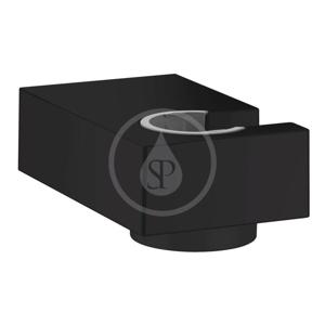 HANSGROHE Držáky Nástěnný držák sprchy Porter E, matná černá 28387670