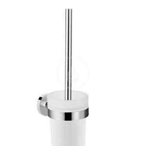 HANSGROHE Logis Universal WC kartáč s držákem, sklo/chrom 41722000