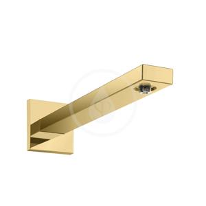 HANSGROHE Příslušenství Sprchové rameno 389 mm, leštěný vzhled zlata 27694990