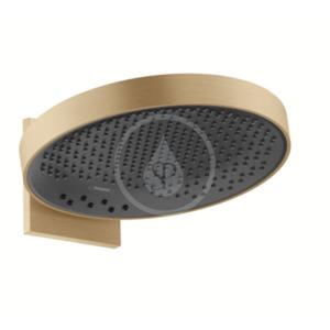 HANSGROHE Rainfinity Horní sprcha 360 s připojením, 3jet, kartáčovaný bronz 26234140