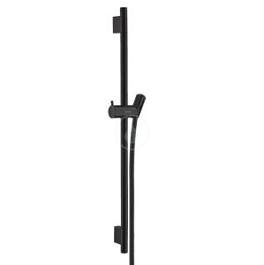 HANSGROHE Unica'S Sprchová tyč 650 mm se sprchovou hadicí, matná černá 28632670