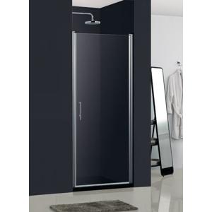 HOPA madeira II bez vaničky, chrom, sklo frost, 80 × výška 195 cm, levé provedení BCMADE280CFL