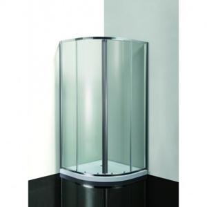 HOPA VÝHODNÝ SET ČTVRTKRUH SMART MURO s vaničkou Univerzální, Hliník chrom, Grape bezpečnostní sklo 4 / 6 mm, 90 cm, 90 cm OLCTVRT90CG2