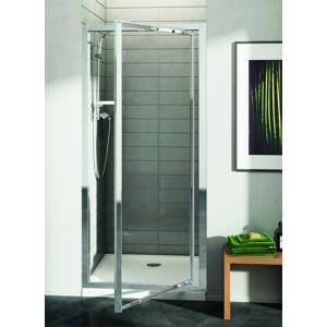 IDEAL STANDARD Connect Sprchové dveře pivotové 80 cm matné sklo, silver bright (lesklá stříbrná) T9842EO