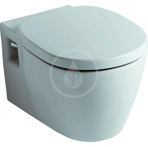 IDEAL STANDARD Connect Závěsný klozet 360 x 540 x 340 mm, hluboké splachování, s Ideal Plus, bílá E8232MA