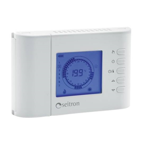 IVAR CS spol. s.r.o. Termostat prostorový týdenní digitální 2A x1,5V +10° až +30°C (bateriový) Ivar.Bluetime TCW02B