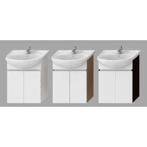 JIKA LYRA bílá skříňka pod umyvadlo 60cm, 2 dvířka H4531210383001