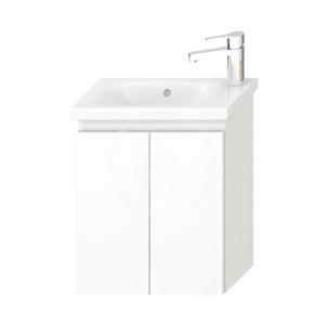 JIKA Mio Skříňka pod asymetrické umývátko, bílá H40J7112005001