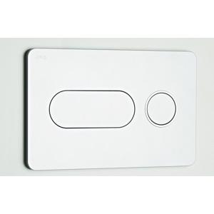 Jika ovládácí deska PL8 DualFlush lesklý chrom/matný kroužek, 2tlačítko H8936460040001