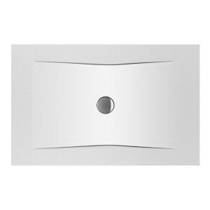 JIKA PURE sprchová vanička BÍLÁ Antislip 1400x900x30, ocelová 3,5mm 2.1642.5.600.000.1 H2164256000001