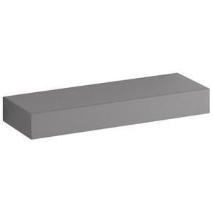 Geberit IconXS Nástěnná polička 37cm H=5cm /16.5cm vysoký lesk / Platinová 840339000 840339000