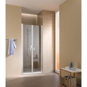Kermi Kyvné dveře Cada XS PTD 07020 660-710/2000 stříbrná vys.lesk ESG čiré Clean Kyvné dveře CCPTD07020VPK