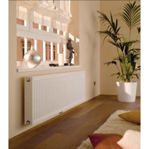 Kermi radiátor Profil bílá VM12 500 x 700 Středový ventil vpravo FTP120500701R1K FTP120500701R1K