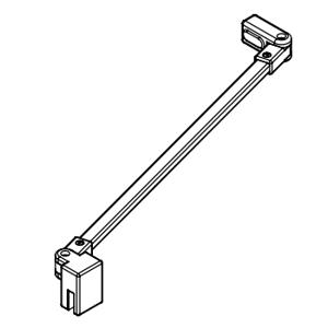 Kermi Stabilizátor Cada XS SSVSS Länge 500 mm bílá ZDSSVSSCC0502K