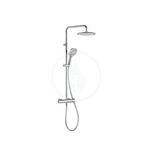 KLUDI Freshline Dual Shower System, termostatická sprchová souprava, chrom 6709205-00